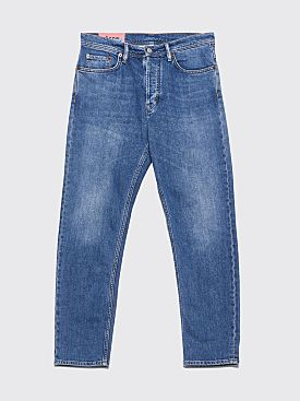 Acne Studios Blå Konst River Jeans Mid Blue