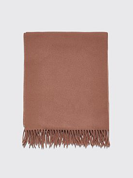 Acne Studios Canada New Scarf Caramel Brown