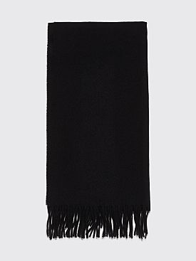 Acne Studios Canada Narrow New Scarf Black