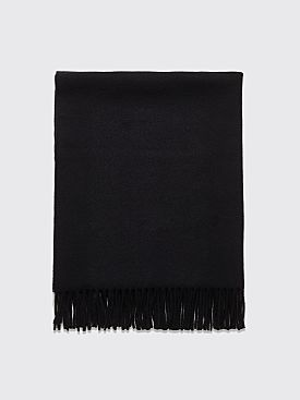 Acne Studios Canada New Scarf Black