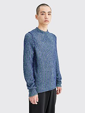 Acne Studios Kaiser Ribbed Knit Sweater Green