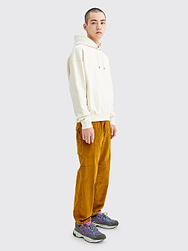 Acne Studios Payden Corduroy Pants Oil Yellow