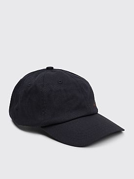 Acne Studios Carliy Cotton Twill Cap Black