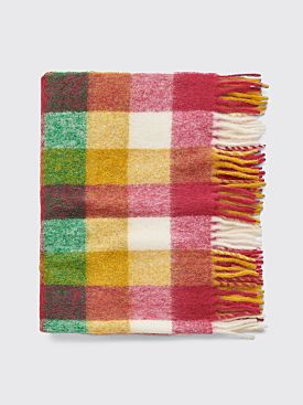 Acne Studios Vally Blanket Fuchsia / Orange