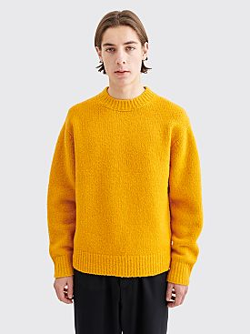 Acne Studios Kael Cashmix Sweater Orange