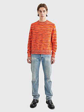 Acne Studios Kimbal Sweater Summer Mix Melange Orange
