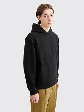 Acne Studios Forres Hooded Sweatshirt Pink Label Black