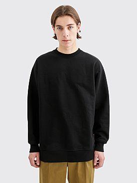 Acne Studios Forban Sweatshirt Pink Label Black