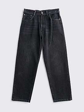 Acne Studios Blå Konst 1991 Toj Jeans Vintage Black