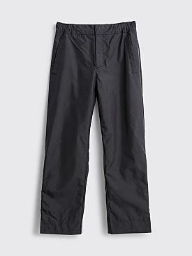 Acne Studios Pollock Nylon Pants Black