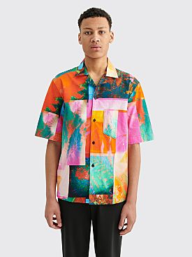 Acne Studios Botanical Print Shirt Pink / Orange