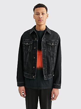 Acne Studios Blå Konst 1998 Denim Jacket Vintage Black