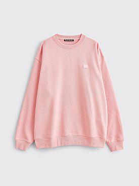 Acne Studios Forba Face Sweatshirt Blush Pink