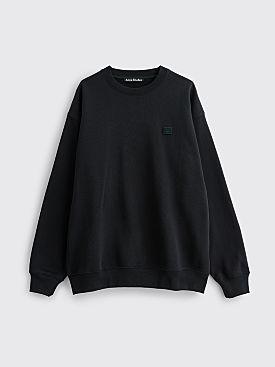 Acne Studios Forba Face Sweatshirt Black