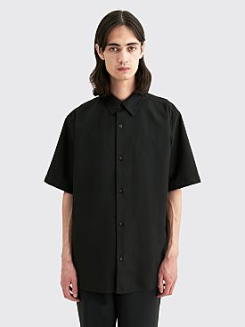 Acne Studios Shepton Twill Shirt Black