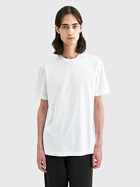 Acne Studios Everrick Pink Label T-shirt Optic White