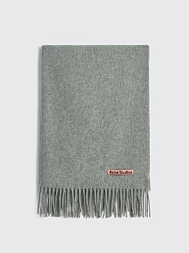 Acne Studios Canada New Scarf Light Grey Melange