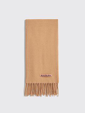 Acne Studios Canada Nr New Scarf Camel Brown