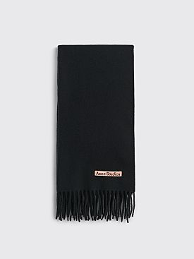 Acne Studios Canada Nr New Scarf Black