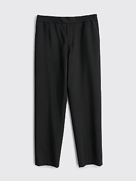Acne Studios Pismo Wool Mohair Trousers Black