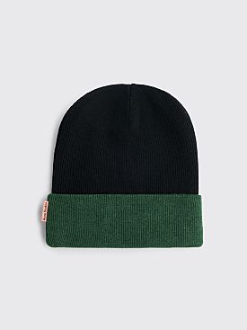 Acne Studios Kaam Beanie Hat Black / Green