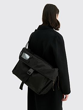 Acne Studios Large Messenger Post Bag Black