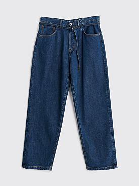 Acne Studios 1991 Toj Jeans Dark Blue Tencel