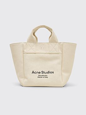 Acne Studios Alisse Canvas Bag Beige