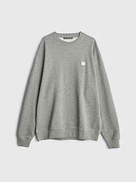 Acne Studios Forba Face Sweatshirt Light Grey Melange