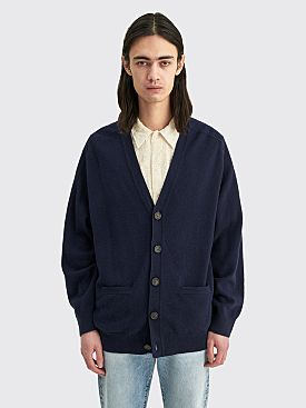 Acne Studios Cardigan Sweater Navy