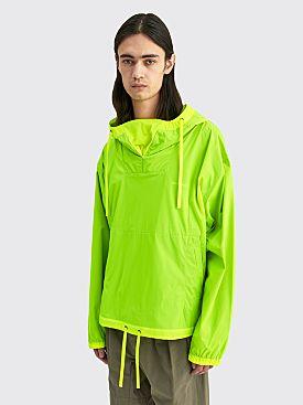 Acne Studios Anorak Jacket Neon Yellow