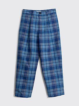 Acne Studios Wide Leg Trousers Blue / Navy