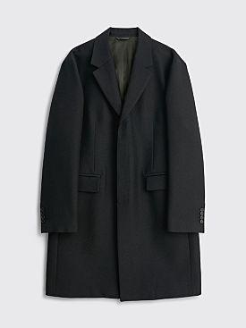 Acne Studios Wool Blend Coat Black