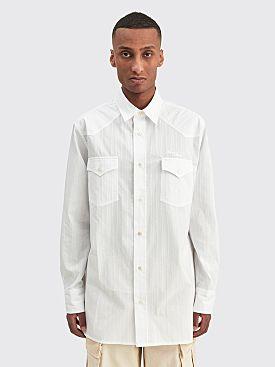Acne Studios Oversized Shirt Off White
