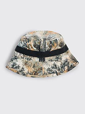 Acne Studios Floral Bucket Hat Desert Beige