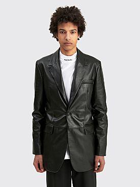 Acne Studios Leather Blazer Black
