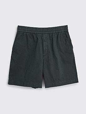Acne Studios GD Cotton Shorts Anthracite Grey