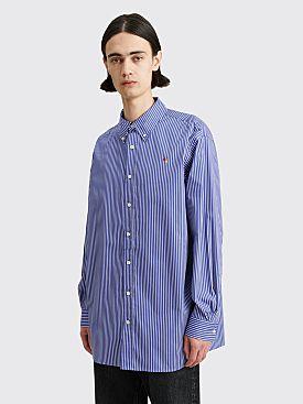 Acne Studios Oversized Striped Shirt Blue / White