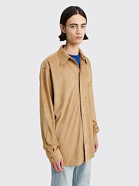 Acne Studios Oversized LS Shirt Light Brown