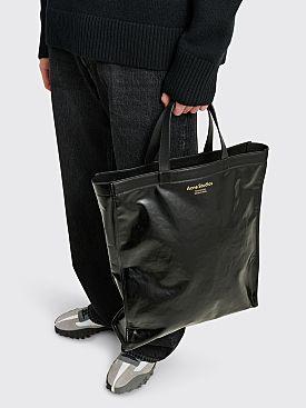 Acne Studios Shiny Tote Bag Black