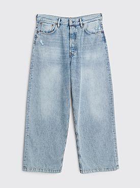 Acne Studios 1989 Jeans Light Blue Trash