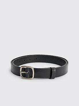 Acne Studios Classic Leather Belt Black