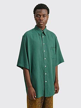Acne Studios Oversized Pocket Shirt Emerald Green