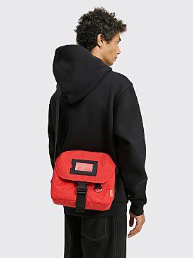 Acne Studios Midi Messenger Bag Red / Black