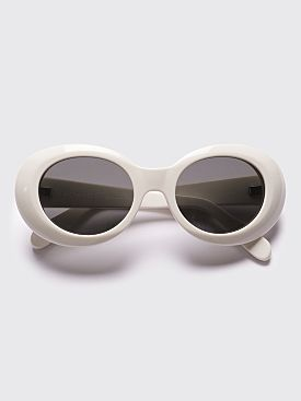 Acne Studios Mustang Sunglasses Off White / Black
