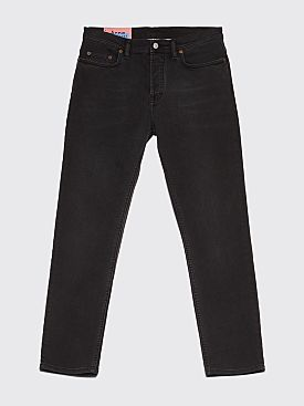 Acne Studios Blå Konst River Jeans Used Black