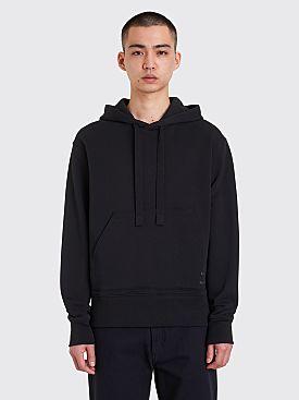 Acne Studios Fellis Logo Hooded Sweatshirt Black