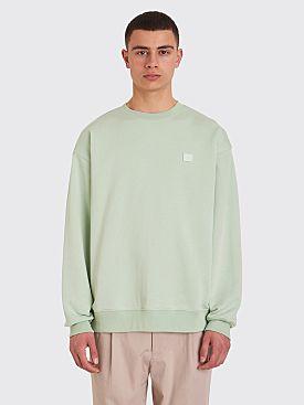 Acne Studios Forba Face Sweatshirt Pistachio Green
