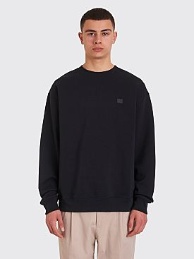 Acne Studios Forba Face Sweatshirt Black