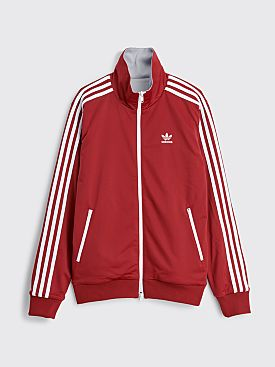 adidas x Human Made T/T Firebird Sweater Collegiate Burgundy